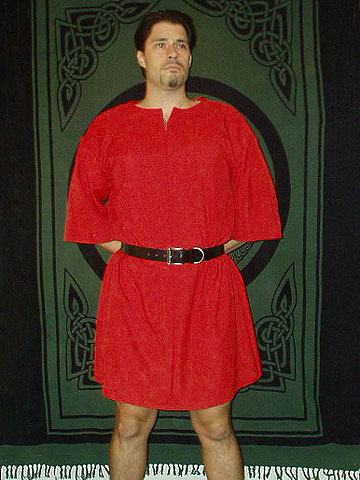 Roman Period Ensemble for Roman Miles / Soldier / Centurion / Legionaire with 100% Linen Tunic in Your Choice of Color, with Leather Belt Available!!!