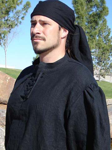 Renaissance and Medieval costumes! Mens and Womens Pirate Crevatte and Head Wrap