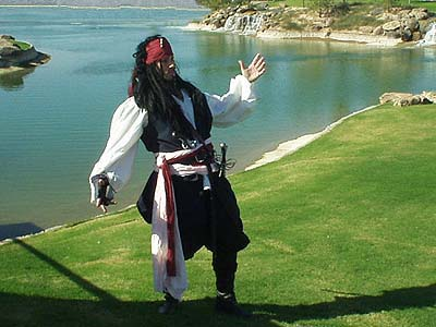 Renaissance and Medieval costumes! Pirate Outfit -- Sea Jerkin, Tunic, Sash, and Pirate Pants