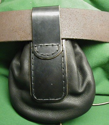 Authentic Scottish Highlander 100% Leather Sporrans!