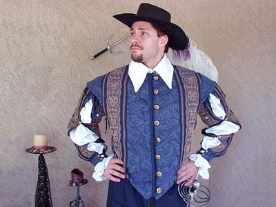 The ideal shirt for the landowner, goodman, artisan, merchant, noble, courtier, chirurgeon, cleric, captain, or highborn of the high middle ages and renaissance!