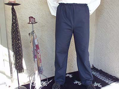 Durable, Dashing Peasant Pants in Heavy Quilter's Cotton at Misty Thicket Clothing!