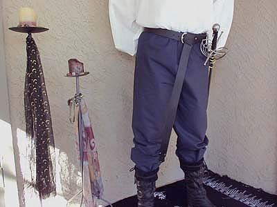 Carefully Hand Crafted Celtic, Medieval, and Renaissance Period Braies, Pants, Trousers, Slops, and Knee Breeches for Men. Your one stop shopping for renaissance clothing!