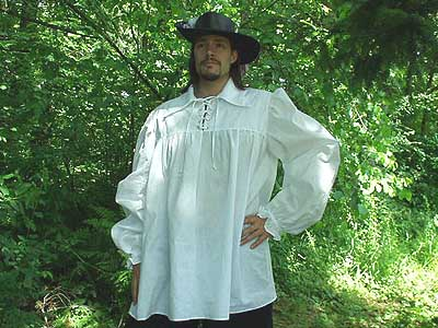 The ideal poet shirt for the rogue, renegade, outlaw, artisan, merchant, noble, or sell sword of the high middle ages and renaissance!