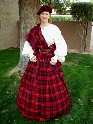 Misty Thicket Clothing: Women\'s Scottish Outfits > Women\'s Scottish ...
