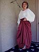 One Size Fits All! Late Medieval / Renaissance Period Peasant Panel Skirt in Linen or Cotton!!